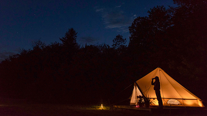 Camping in New Hampshire's North Country
