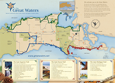 Great Waters map