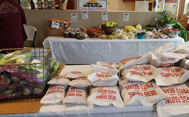 Farm Stand from the Los de Mora Growers Cooperative